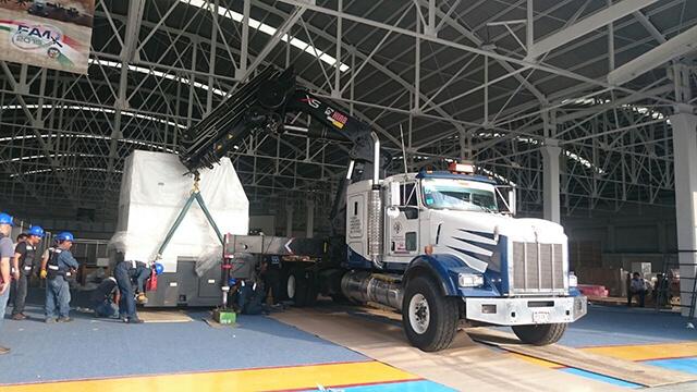 Grúa de 15 toneladas