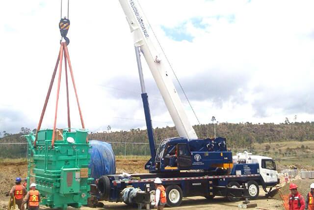 Grúa de 100 toneladas